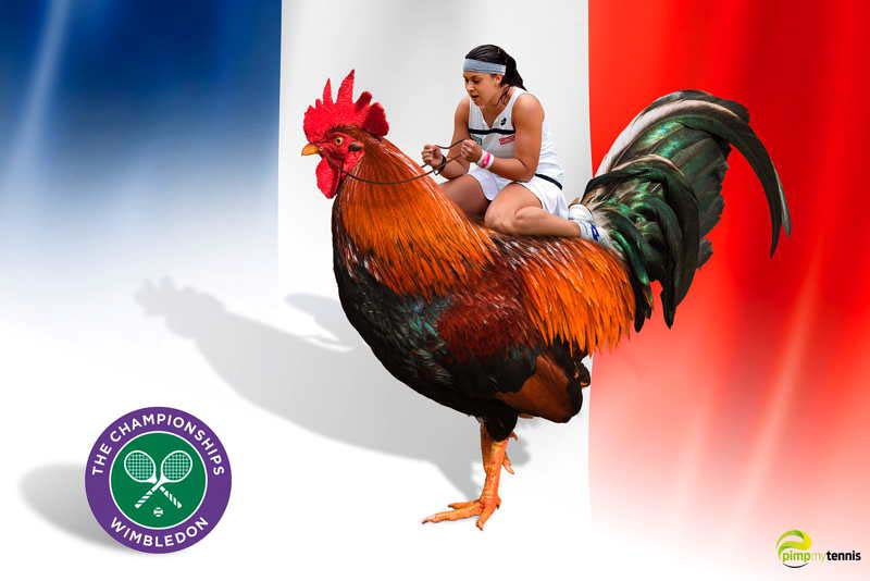 Bartoli Wimbledon funny tennis pimpmytennis