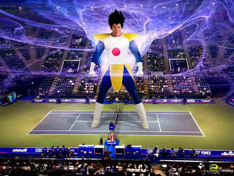 Kei Nishikori manga funny tennis pimpmytennis