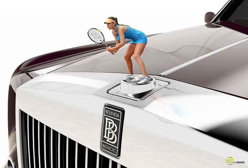 Belinda Bencic funny tennis pimpmytennis