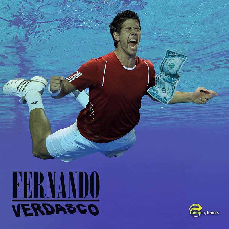 Fernando Verdasco Nirvana Nevermind funny tennis pimpmytennis