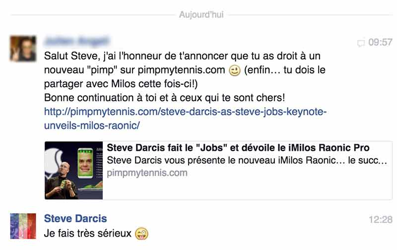 Steve Darcis Facebook