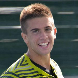 Borna Coric smile