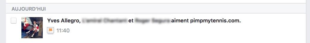Yves Allegro Facebook