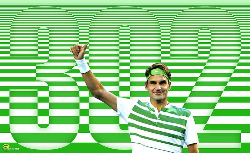 #Federer 302 weeks funny tennis pimpmytennis