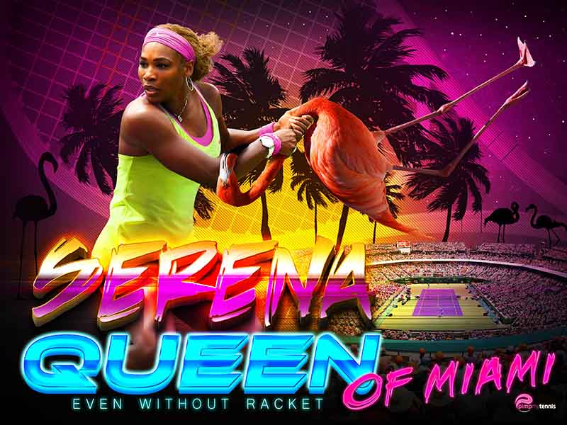Serena Williams Queen of Miami