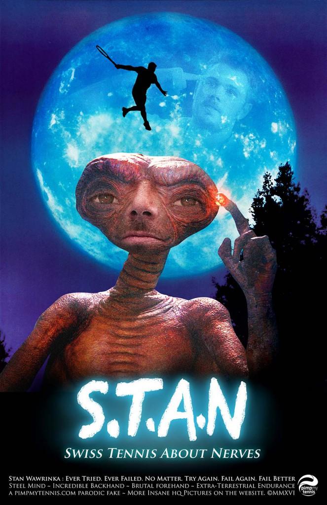 Stan Wawrinka L'Extraterrestre