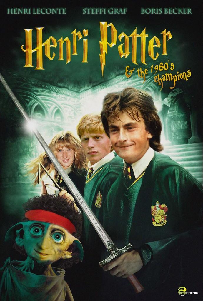 Harry Potter 80's: Henri Leconte, Steffi Graf & Boris Becker...