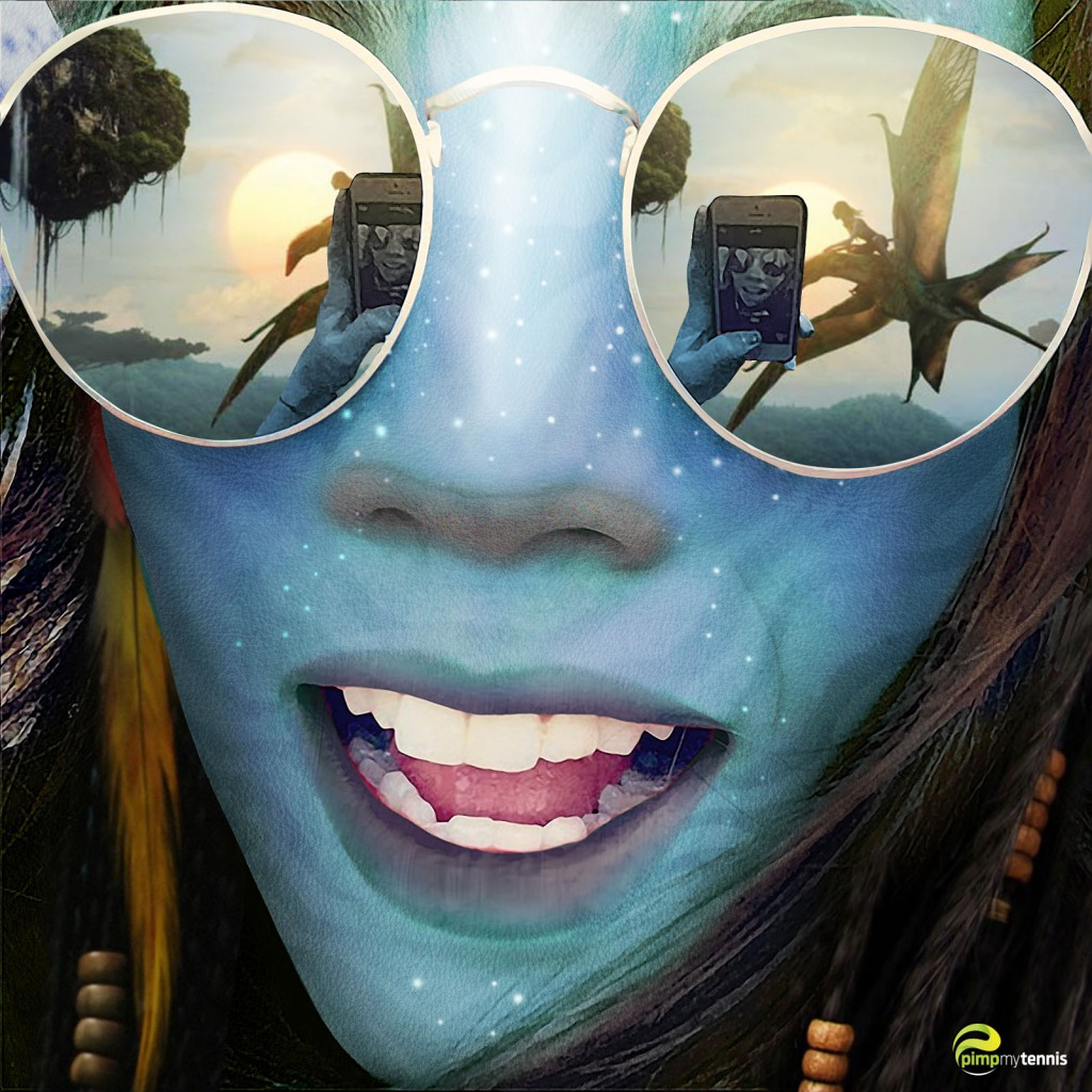 Alize Lim Na'Vi sur Pandora (Avatar)
