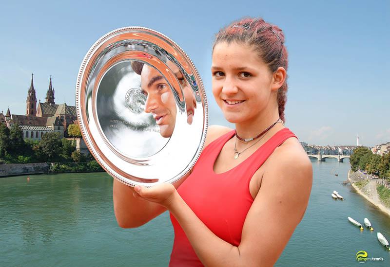 Rebeka Masarova 16yo from Basel like Roger Federer - pimpmyteenis