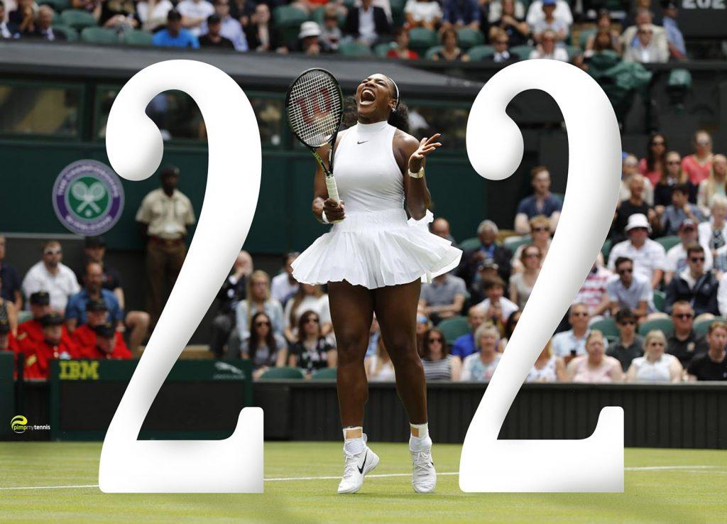 Serena Williams Wimbledon 2016 Steffi Graf