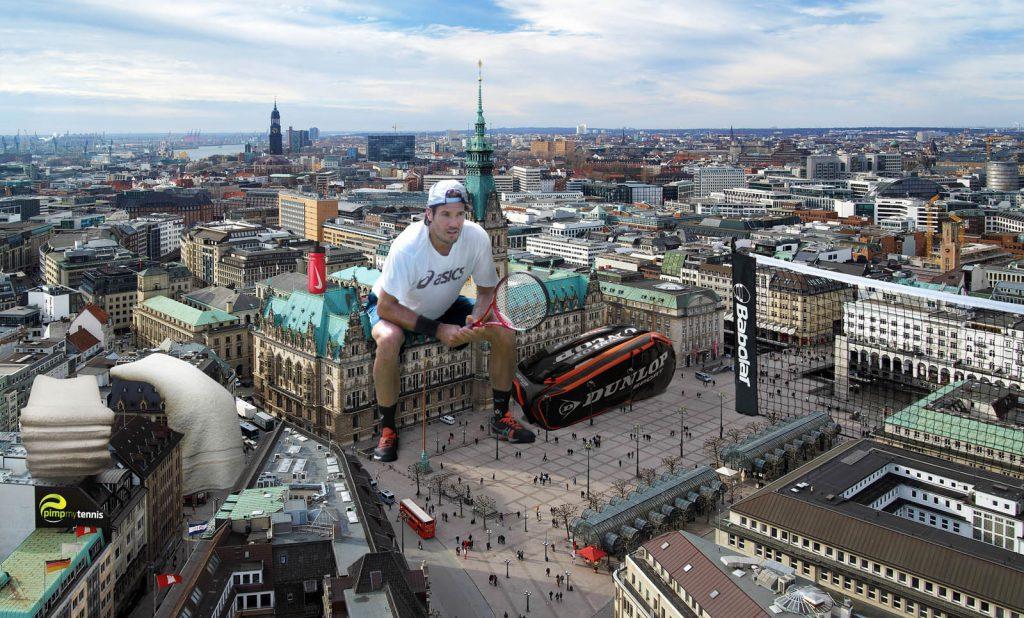 Tommy Haas colossus of Hamburg