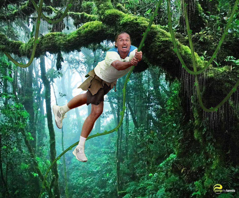 Alexandr Dolgopolov Tarzan Jungle Wild man