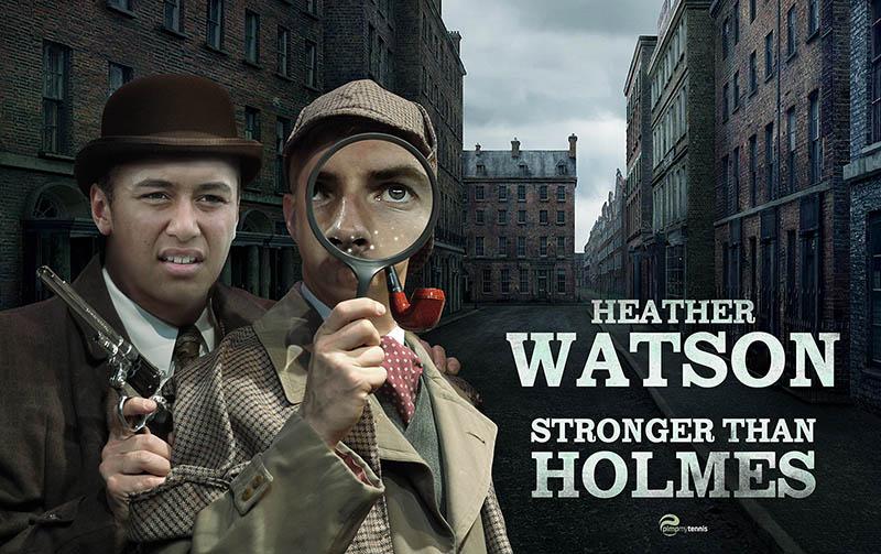 Heather Watson Sherlock Holmes