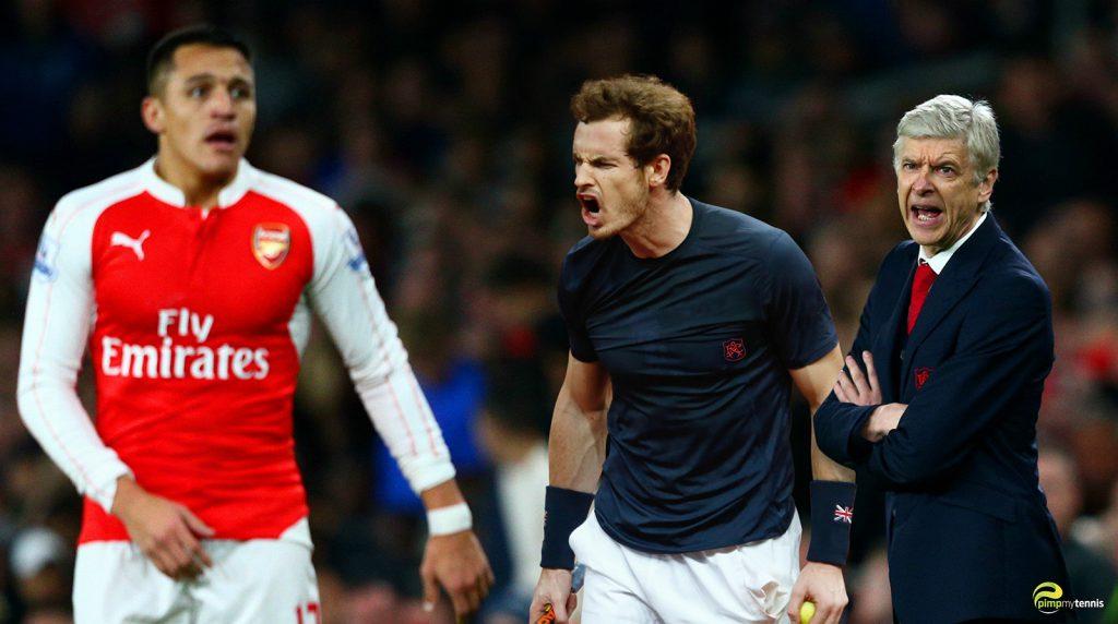 FC Arsenal Andy Murray