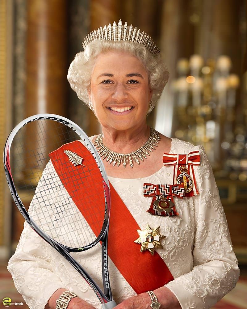 Heather Watson the Queen