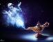 lampe Genie Bouchard Alladin aladdin
