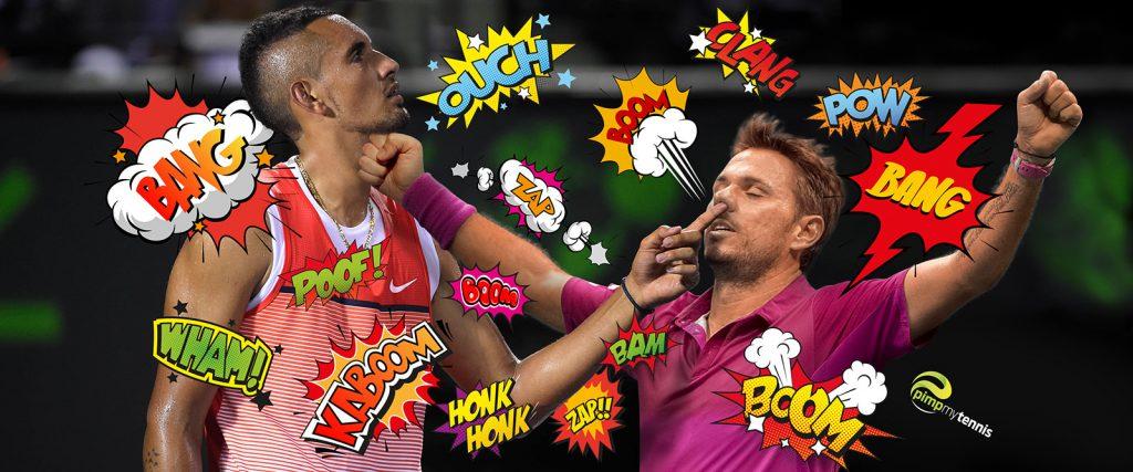 Clash Stan Wawrinka Nick Kyrgios