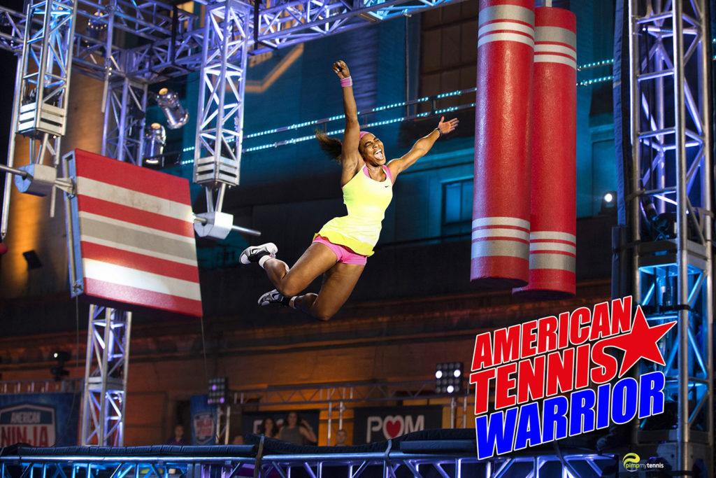 Serena Williams American Ninja Warrior