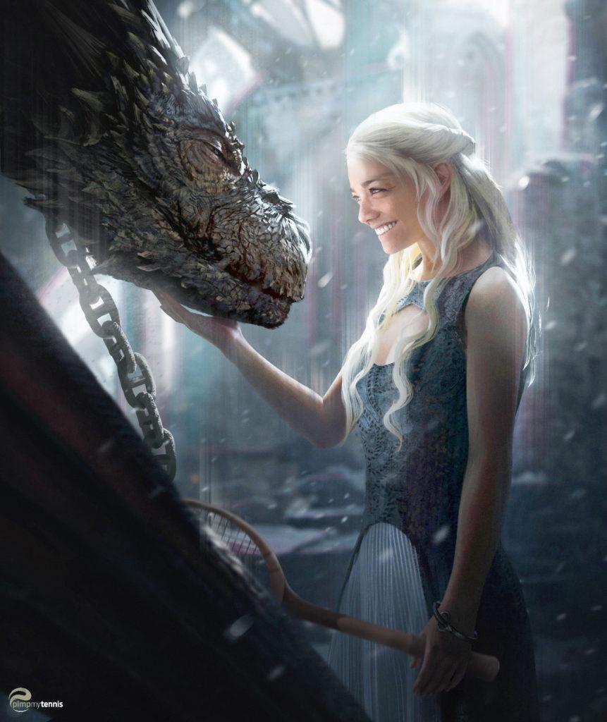 Alizé Lim Daeneyris Game of Thrones (Dragon)
