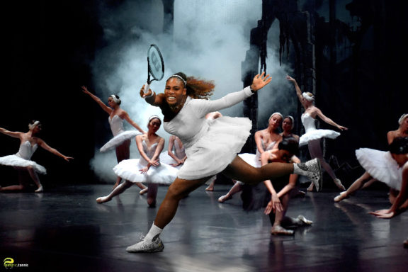 Serena Williams Black Swan